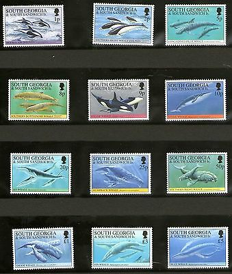 South Georgia 1994 Whales & Dolphins Set 12