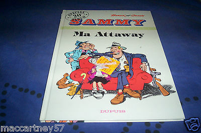 Album Bd Sammy Ma Attaway Ed.dupuis Reedition De 1993 47 Pages Bd Couleur