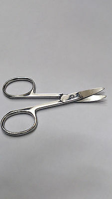 """Super Sharp High Quality Stainless Steel Curved Edge Nail Scissor 4"""""""