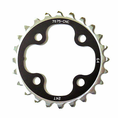 gobike88 Driveline 10 speed black chainring 24T BCD 64mm, 23g, MTB, S76