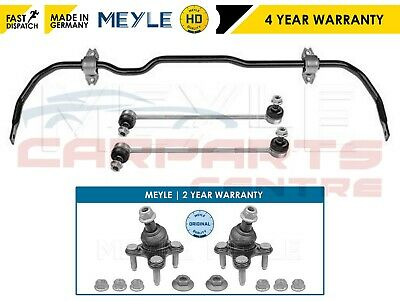 For Golf Front Meyle Heavy Duty Antiroll Stabiliser Sway Bar & Lower Ball Joints