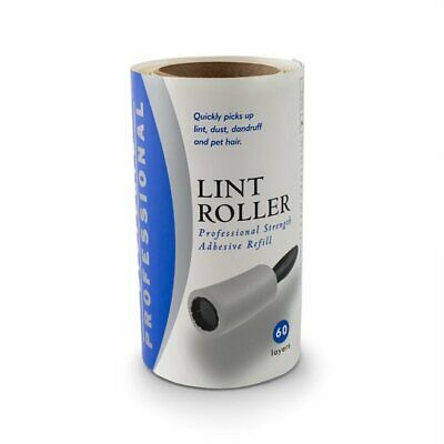 Evercare Lint Remover Refill Extra Sticky 60-Layers - 12 Rolls / No Handle