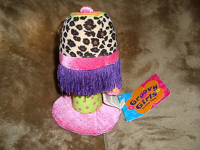 "Groovy Girls plush Luxe Lamp 6"" tall W/Tags"