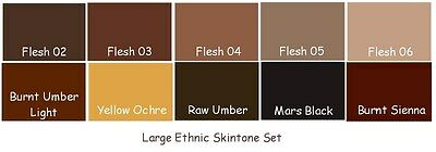 GeNeSiS HeAt SeT CoMpLeTe EtHniC PaiNt SeT