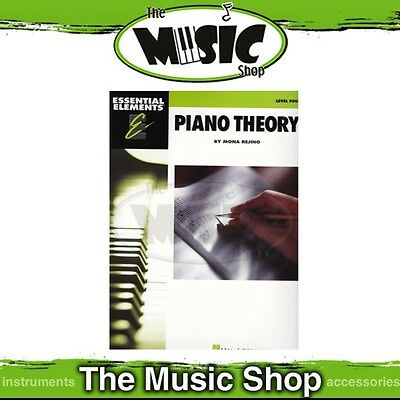 New Essential Elements Piano Theory Level 4 Music Tuition Book