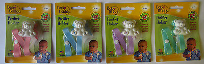 Baby Buddy Bear Pacifier Holder  - BPA Free New Free Shipping In The US