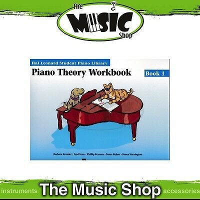 New HLSPL Piano Theory Workbook Book 1 - Hal Leonard Student Piano Library