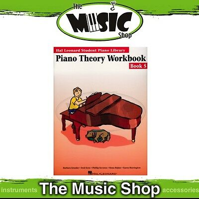 New HLSPL Piano Theory Workbook Book 5 - Hal Leonard Student Piano Library