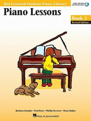 New HLSPL Piano Lessons Book 3 & CD - Hal Leonard Student Piano Library