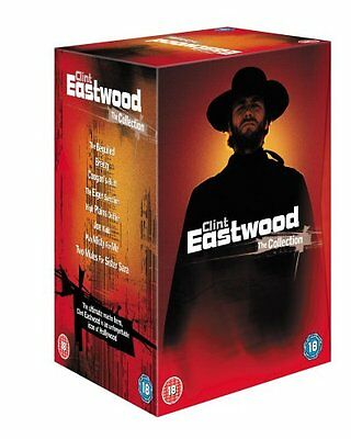 """Clint Eastwood Collection 8 Films Deluxe Collector's Dvd Box Set R4 """"New&Sealed"""""""
