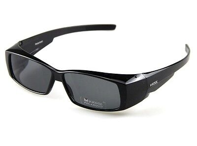 Mens/Womens POLARIZED WEAR FIT OVER GLASSES GOGGLE SUNGLASSES 5 kinds of color