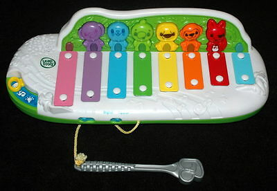 Leapfrog Learn and Groove Xylophone musical Spanish Bilingual Zoo Animals Toy