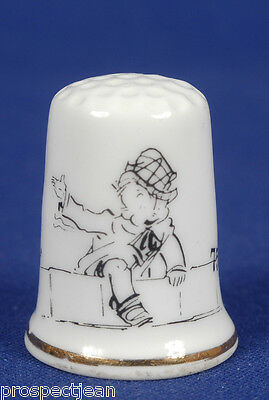 Skippy by P.L.Crosby 75th Anniversary 1923-1998 China Thimble B/24