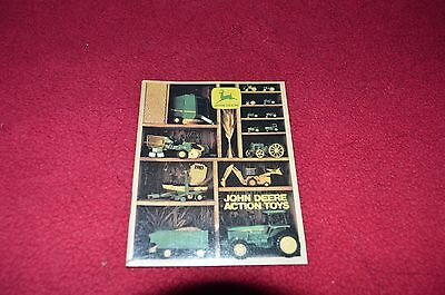 John Deere Actions Toys From 1983  Dealers Brochure LCOH