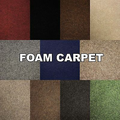Foam Backed Carpet Cheap Rolls Any Size Cheap New Budget Thin Exhibition Cord
