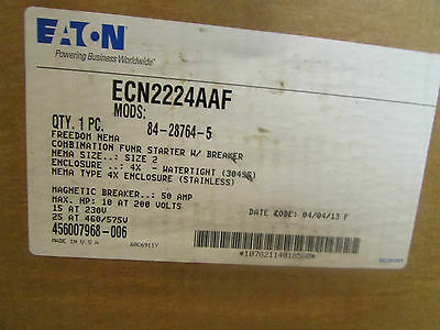 EATON ECN2224AAF Freedom Series Combination FUNR Starter HMCPE with Disconnect