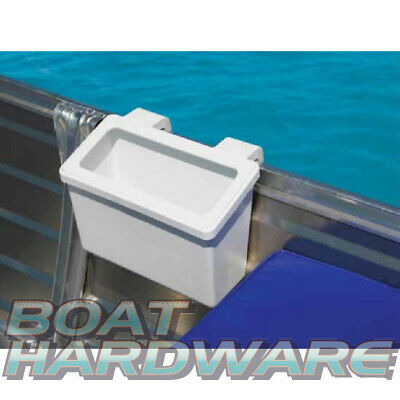 Fishing Storage Bait Tackle Bin Bucket for Gunwale Tinnie Portable Brand New