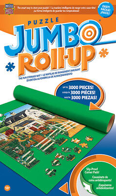 """Masterpieces Jumbo Puzzle Roll Up Mat 48x36"""" Stores up to 3000 Pieces 50530"""