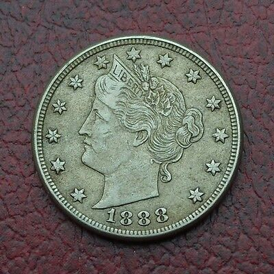 USA 1888 nickel 5 cents