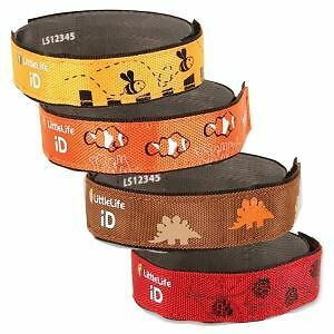 LittleLife childrens Safety ID Strap - ID Bracelet in Various Animal Designs