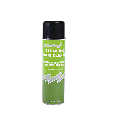 2x Fabric Cleaner spray. Deep cleaning foaming fabric cleaner for sofas & chairs