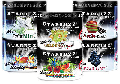 Starbuzz Steam Stones Shisha Hookah Nargila Zero Tobacco/Nicotine UK SELLER