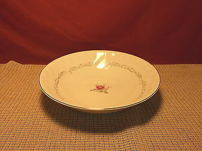 Fine China of Japan Royal Swirl Pattern Round Vegetable Bowl 9 1/8""