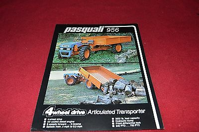 Pasquali 956 Tractor Dealer's Brochure LCOH