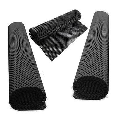 Set 2 Non Slip Anti Grip Mat Roll Drawer Liner Table Placemat Kitchen Skid Slide