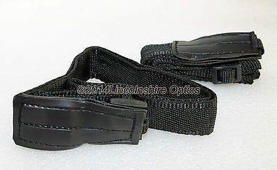 Optical Hardware medium binocular strap (twin pack) for binoculars. Black