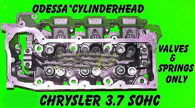 1 Jeep Dodge Liberty Dakota 3.7 Sohc Cylinder Head Val&spr Only Right Side 02-04