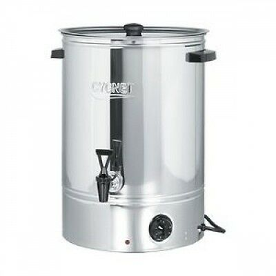 Burco 30 Litre Hot Water Urn Tea / Catering Counter Top Boiler Stainless Steel