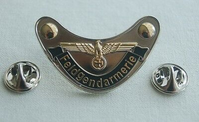 Feldgendarmerie EK Adler Militäry Militaria Pin Button Badge Anstecker # 350