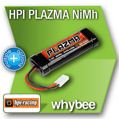 HPI RACING NIMH Ni-MH BATTERY STICK PACK RECHARGEABLE 1600 to 4300 mAh 6.0v 7.2v