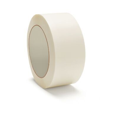 "12 Rls White Color Tape 2"" x 110yds Packing Carton Sealing Shipping Tape 2 Mil"