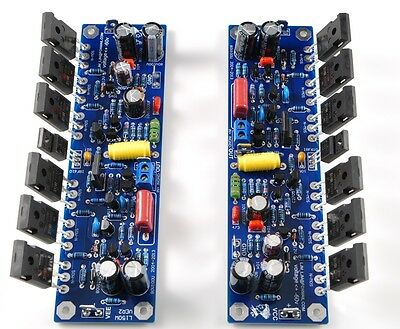 L150W Stereo Class AB 150-600W IRFP250*6 amplifier completed board