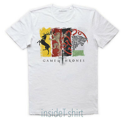 MAGLIETTS CASATE GAME OF THRONES Tyrion Lannister Jon Snow Daenerys T-SHIRT MAN