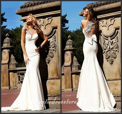☆2014-10 New Robe de mariée mariage soirée wedding evening dress