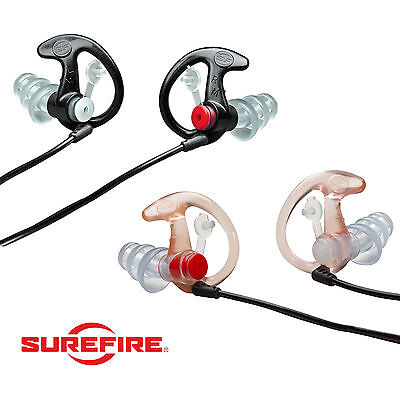 SUREFIRE EARPRO Sonic EP4 Ear Defender Plug Shooting Hunting Sport- FREE UK P&P!