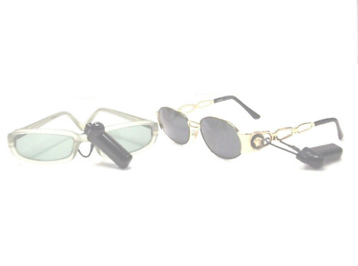 200 pcs EAS RF 8.2MHz Checkpoint Compatible Anti Theft Security eyeglasses Tag
