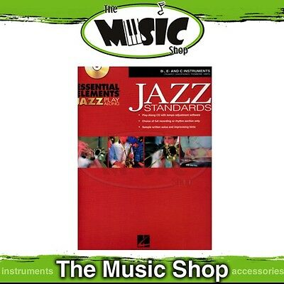 New Essential Elements Jazz Play Along: Jazz Standards Book & CD - Bb, Eb & C