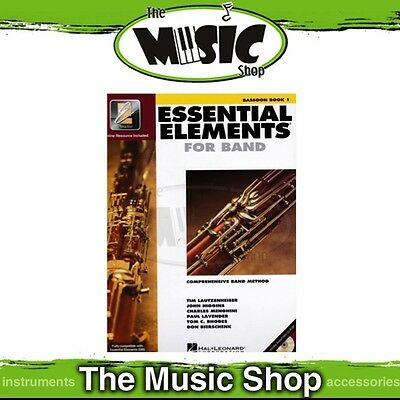New Essential Elements for Band: Bassoon Book 1 - Comprehensive Band Method