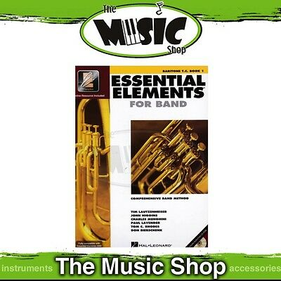 New Essential Elements for Band: Baritone T.C. Brass Book 1 - Band Method