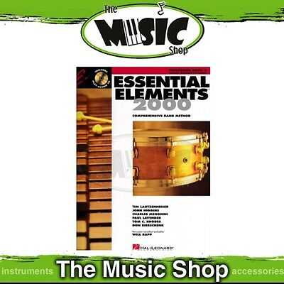New Essential Elements 2000: Percussion Book 2 & CD - Comprehensive Band Method