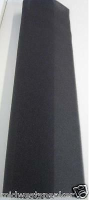 """DCM Time Window & QED Speaker Acoustic Foam Grille Covers .25"""" Thick - 1 Pair"""