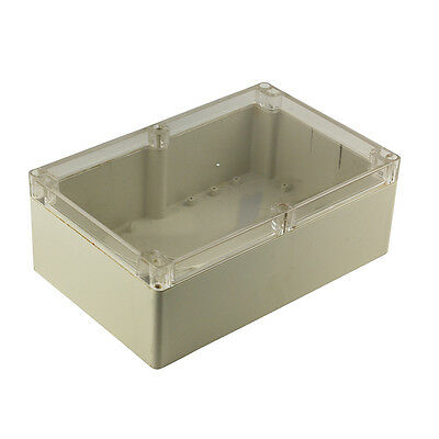 Waterproof Clear Cover Plastic Electronic Project Box Enclosure Case 230x150x85