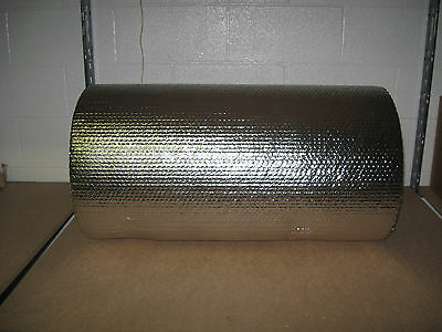 "1/8"" Insulated Double Foil Reflective Bubble - 24"" x 125'"