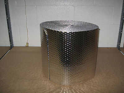 "1/8"" Insulated Double Foil Reflective Bubble - 16"" x 125'"