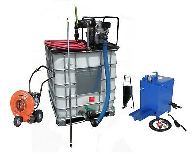 Sealcoating Business Starter Package, Tote Spray System, 10 gal Melter & Blower