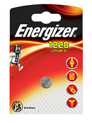 4 x Energizer  Batterie CR1220 Lithium 3V Knopfbatterie CR 1220 Battery NEW